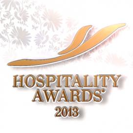Оформление церемонии награждения премии HOSPITALITY AWARDS 2013