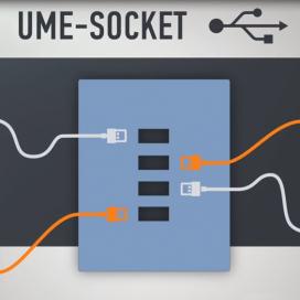 Презентационный ролик для стартап-проекта «UME Socket» для платформы Kickstarter-USA